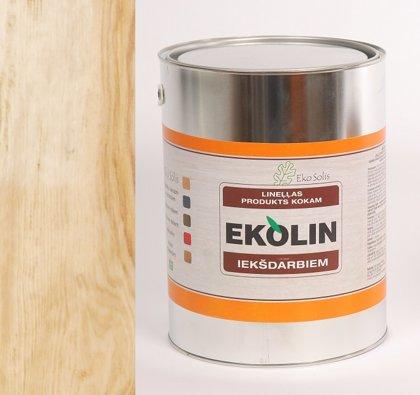 EKOLIN 180 bezkrāsaina lineļļa iekšdarbiem 5 ltr
